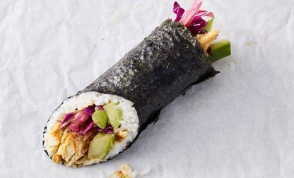 starbucks sushi burrito