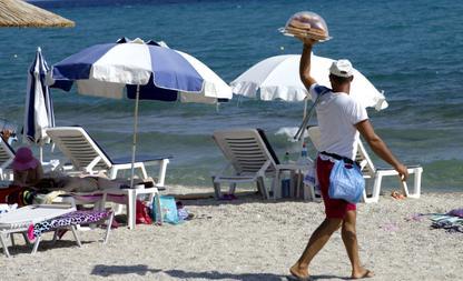 strandverkopers barcelona