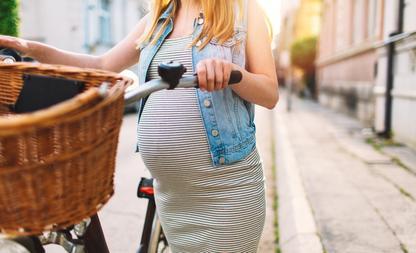 haar verandering zwanger