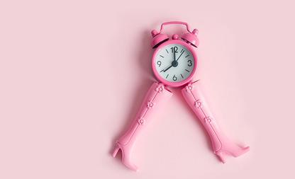 klok stress tijd creëeren