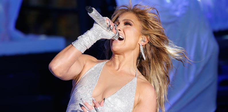 Jennifer Lopez inauguratie