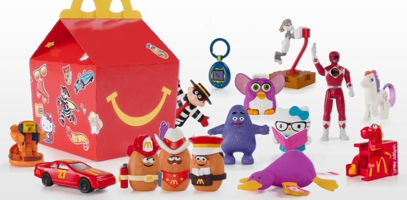McDonald's Happy Meal limited edition