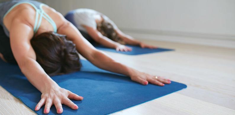 yogamat schoonmaken