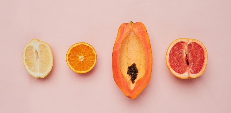 vagina fruit