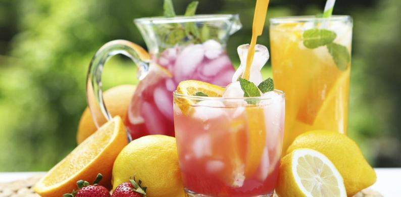 home made limonade