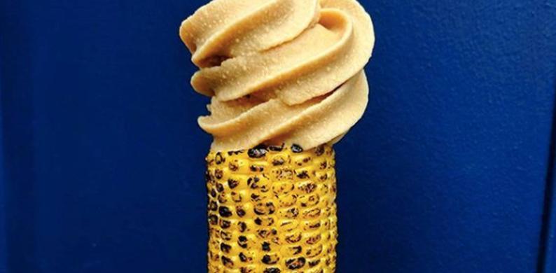 creme the la corn