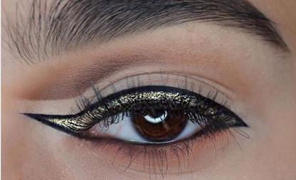 omgekeerde eyeliner
