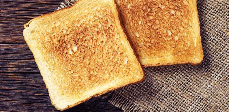 geroosterd brood smaak