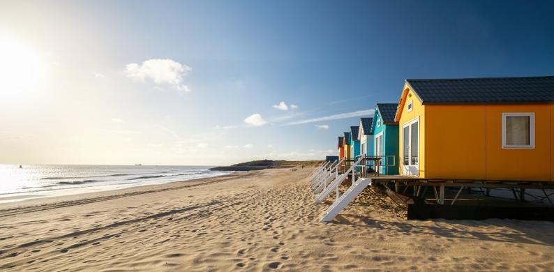 vakantie strand nederland