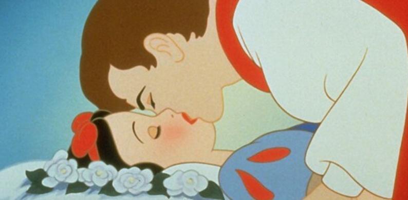 kus sneeuwwitje