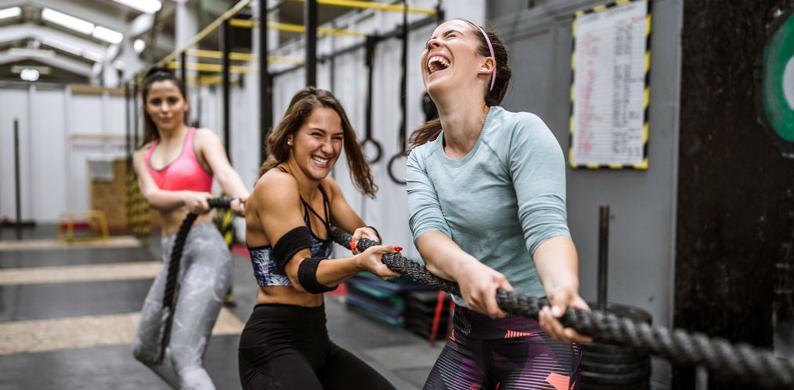sporten tegen stress