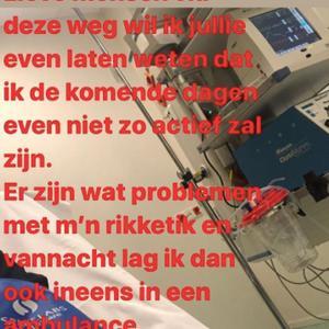 Temptation Danielle ziekenhuis