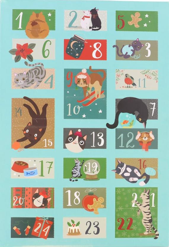 Adventskalender kat