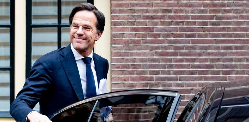 Mark rutte kapper