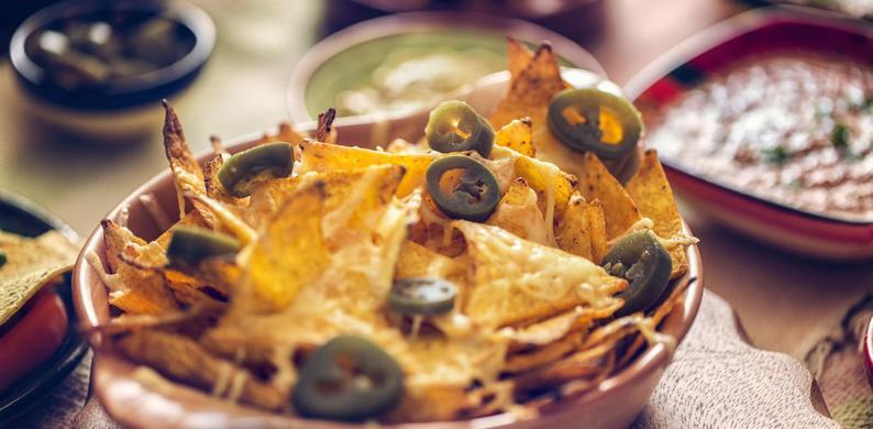 nacho's met kaas