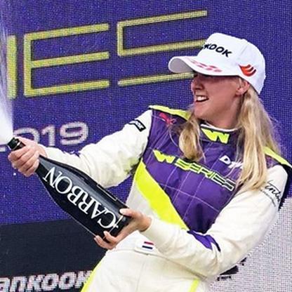 formule 1 vrouwen