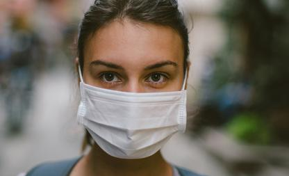 Mondkapje coronavirus Nederland