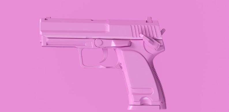 pistool roze