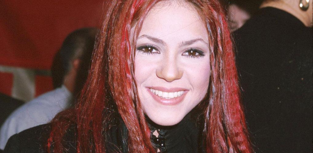 Shakira roze haar