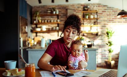 minder inkomen moeders