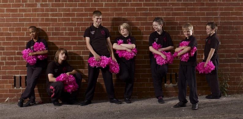idfa boy cheerleaders
