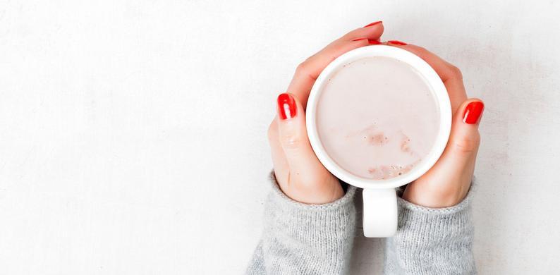 Slimme mok koude koffie