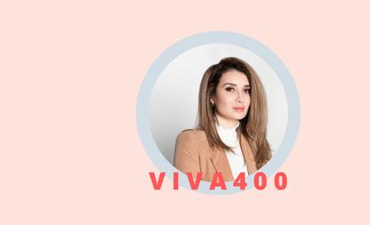VIVA 400 Manizha Nabizada