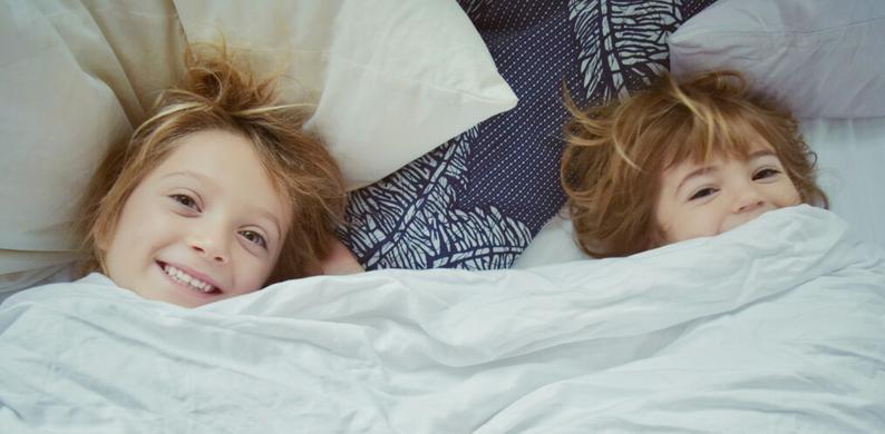 ochtend kinderen