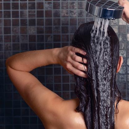 maand geen shampoo