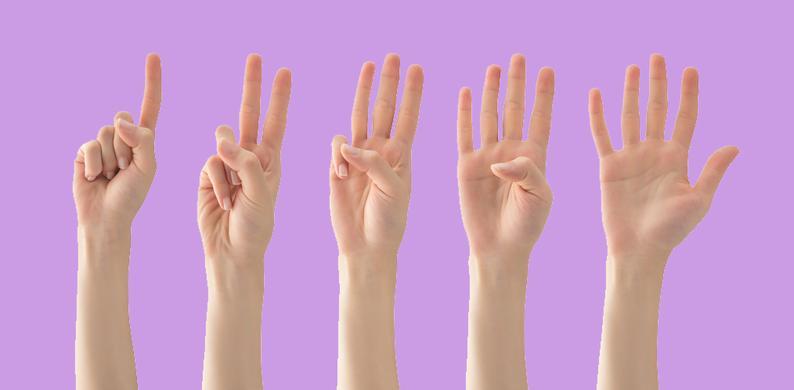 handen tellen