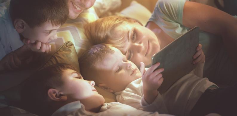 drie jonge kinderen