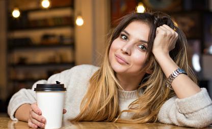 koffie drinken borsten krimpen