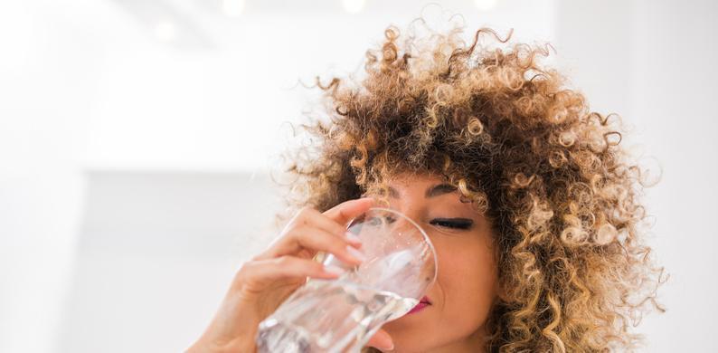 hoeveelheid water drinken