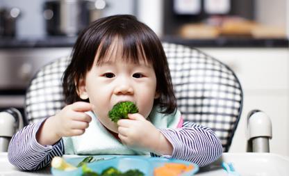 groente eten kinderen
