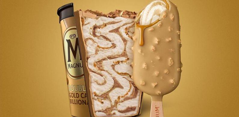 magnum gold caramel