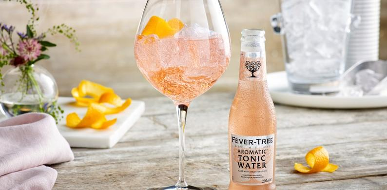 fever tree roze tonic