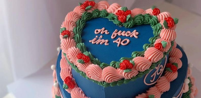 jaren 80 taart
