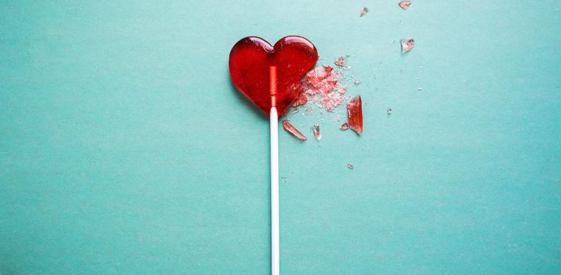 liefdesverdriet eten
